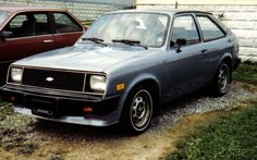 1984 Chevette my parents first car was similar to this but in white