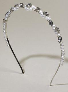 Silver Fifi Flower Tiara - wedding accessories - Wedding - BHS