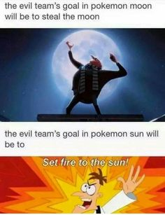 Figured Out the Sun and Moon Villains