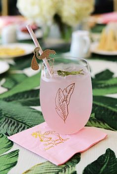 Palm Beach Lately Baby Shower- The Glam Pad