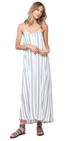 Gentle Fawn River Dress   Ethnic Stripe