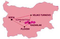vallée des roses bulgarie