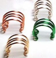CrochetHooked: Wire Wrapping Journey 8: Ear Cuff Tutorial