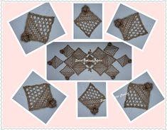 Sweet Nothings Crochet Irish lace doily set