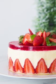Fraisier – Bolo Mousse de Morango | Vídeos e Receitas de Sobremesas