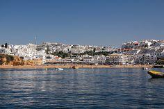 Costa algarvia vista do mar 18-07-2013-6