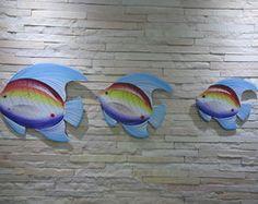Trio de peixe GG1 - Madeira