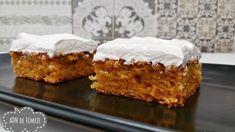 Vanilla Cake, Cooking Recipes, Desserts, Drink, Cakes, Pastries, Mascarpone, Romanian Recipes, Tailgate Desserts