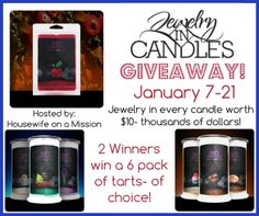 Housewife on a Mission: Jewelry In Candles {by Toni}