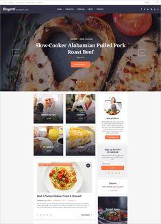 Food, Recipe Blog Website Templates & Themes | Free & Premium | Free & Premium Templates Pulled Pork Roast, Vegetarian Recipes, Cooking Recipes, Custom Web Design, Themes Free, Recipe Search, Roast Recipes, Food Trends, Fabulous Foods