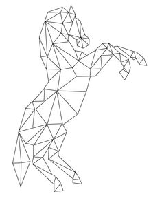 prismatic horse by RK DESIGN.