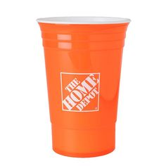Take your drinks to go in this sturdy and reusable cup. This Home Depot cup is double wall insulated to help keep drinks at their perfect temperature.