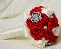 MADE TO ORDER. Vintage Inspired Handmade by RoseAndBirchBouquets