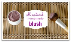 All Natural Homemade Blush
