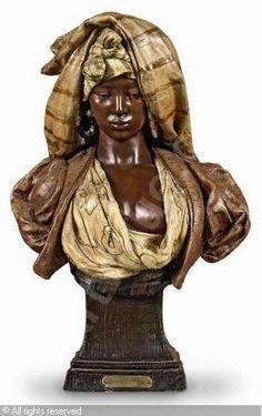 Bust of a Lady Goldscheider, African American Art, African Art, Black Women Art, Black Art, European History, Black History, Ancient Art, Ancient History
