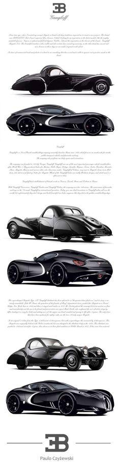 Bugatti Gangloff concept car- Invisium - strangeLine