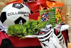 Gift basket for your soccer star.