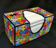 """Can be ordered thru my Facebook """" Puffs tissue box covers and more made to order """""""