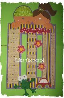 ALFABETIZAÇÃO CEFAPRO DE PONTES E LACERDA : Algumas Ideias para cartazes de Calendário para Sala de Aula