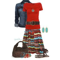 red isnt really n my color wheel, but im pretty sure i cud do something like this...n i love it!