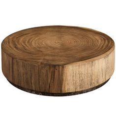 Shop the Ril Solid Wood Drum Coffee Table at Perigold, home to the design world's best furnishings for every style and space. Plus, enjoy free delivery on most items.