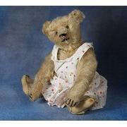 Antique Steiff Teddy Bear With FF .