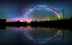 Reflejo galáctico.