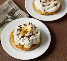 Mini banoffee pies recipe - Recipes - BBC Good Food