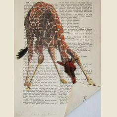 giraffe. by ErinFist