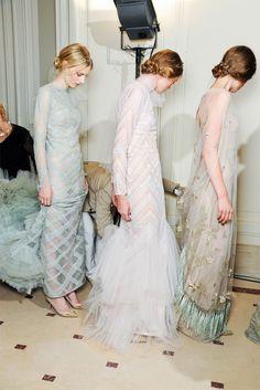 Curtans Dress (far right)