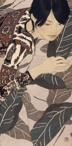 「五十満月・麻衣」— by Ikenaga Yasunari