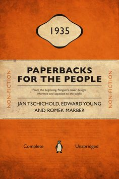 for book lovers: Penguin Books history project