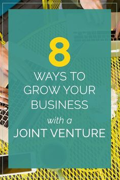 8 ways to grow your business with a joint venture (think webinars, affiliates… Business Motivation, Business Advice, Start Up Business, Business Entrepreneur, Growing Your Business, Business Planning, Online Business, Internet Marketing, Online Marketing