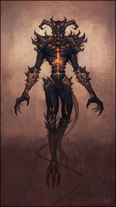 Demon by Andantonius on DeviantArt