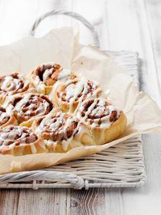 Cinnamon roll (roulés à la cannelle) (Etats-Unis) - Recette de cuisine Marmiton : une recette