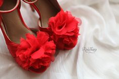 Red shoes by rinathang shoes