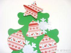 CHRISTMAS SALE Kid-size Wall Felt Christmas Tree and by ShillOPOP