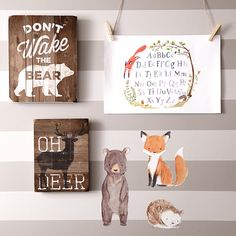 In the Woodlands. Oh deer sign Baby Boy Rooms, Baby Boy Nurseries, Baby Room, Nursery Boy, Themed Nursery, Little Babies, Little Ones, My Bebe, Nursery Inspiration