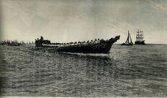 BRESIL ABDICATION GALIOTE    La galiotte transportant le roi du Portugal venu accueillir l'empereur en exil
