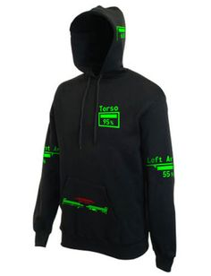 Fallout 3 / New Vegas Personalised V.A.T.S. Hooded by ByteCage