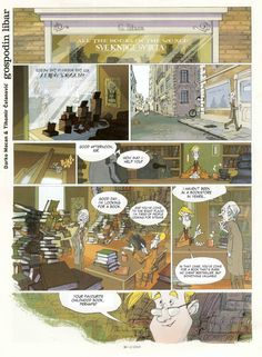 All The Books In The World... Except One  Make sure to go and read the whole comic, this is only the first page. It's a wonderful and emotional story.
