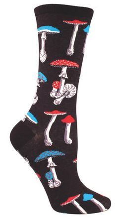 FOOT FUNGUS, LOL....Mushroom Socks