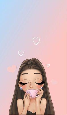 Стена Ariana Grande Anime, Ariana Grande Tumblr, Ariana Grande Drawings, Mood Wallpaper, Girl Wallpaper, Cartoon Wallpaper, Cute Disney Wallpaper, Wallpaper Iphone Cute, Cute Wallpapers