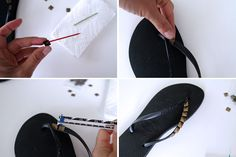 DIY-Studded-Flip-Flops so making these like right now.