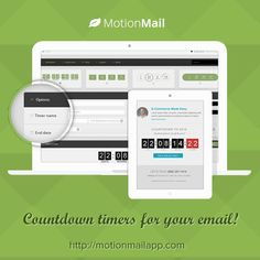 MotionMail offers free countdown timers for your email. Increase engagement, conversions and sales by enhancing your marketing emails with easy to design and create countdown timers. E-mail Marketing, Marketing Digital, Marketing And Advertising, Free Countdown Timer, Countdown Timers, Countdown Clock, Html Email Design, Entrepreneur, Social Media Tips