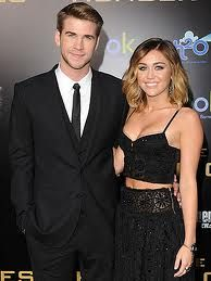 LiamHemsworth and MileyCyrus