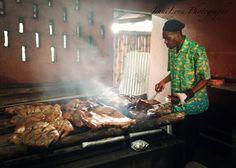 Scotchie's famous jerk chicken!  Jamaica