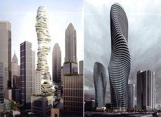 Así serán los edificios del futuro Dubai, Burj Khalifa, Skyscraper, Architecture Design, Multi Story Building, Travel, Singular, Future Buildings, Sci Fi Movies