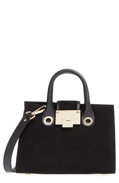 Jimmy Choo Small Riley Suede Crossbody Bag Only $1175.00   On Sale Now