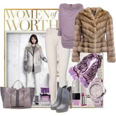Women of worth by milkalilien on Polyvore featuring Phase Eight, LISKA, MOTHER, Rupert Sanderson, RAMY BROOK, Marc Jacobs, Lalique, Butter London, COVERGIRL and Shin Choi